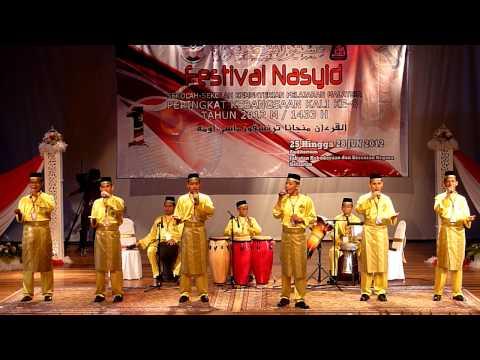 Festival Nasyid Kebangsaan 2012 - Kedah (Anugerah Lirik Lagu Tema Terbaik)