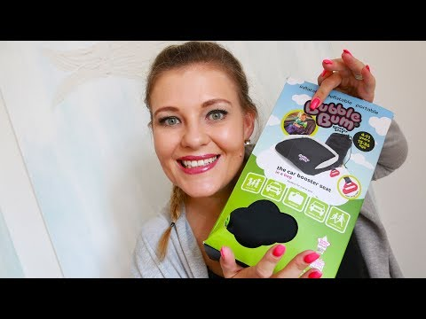 BUBBLE BUM | Car Booster Seat Review