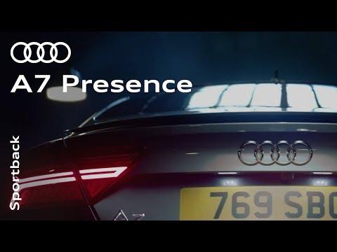 The Audi A7 Sportback - Presence redefined