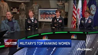 Meet some of the highest-ranking women in US military history