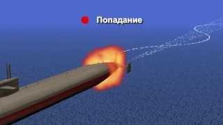 Подводная лодка и торпеда
