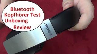 Archeer Bluetoothkopfhörer AH07 Test, Unboxing, Review. Guter Klang für wenig Geld?