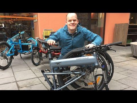 Fahrradfrühling 2016: Mountainbike zum Falten - Paratrooper Highline