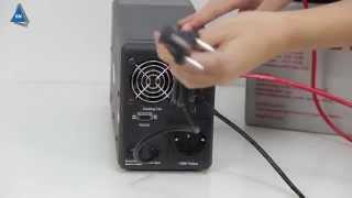 ИБП RITAR RTSW-800 LCD от компании ПКФ «Электромотор» - видео 2