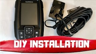 How To Install Transducer In A KAYAK (EASY!) - GARMIN STRIKER 4