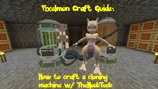 Pixelmon Craft Guide: How to make an anvil w/ TheNoobToob