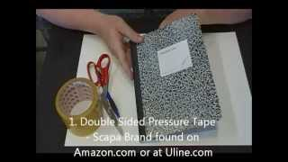 Tutorial #14 Covered Composition Book-pt 1