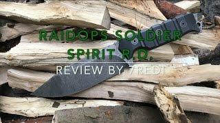 RaidOps Soldier Spirit R.D. Review - Tactical Wood Splitter!