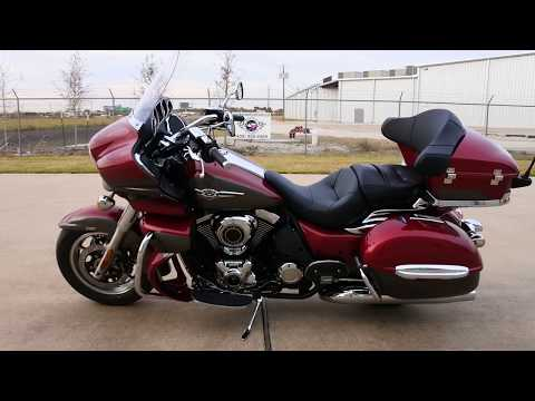 $17,499:  2018 Kawasaki Vulcan 1700 Voyager ABS Candy Cardinal Red Review
