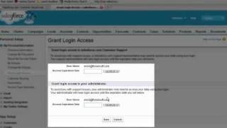 salesforce login: how to allow admin access
