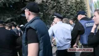 "Видео ""Новости-N"": В Николаеве на 9 мая конфликт с афганцами"