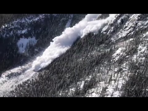 Officials in Colorado say heavy snowfall and high winds have created some of the most dangerous avalanche conditions in years. The avalanche danger has prompted warnings to motorists traveling through high risk areas. (March 7)