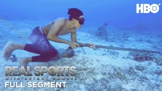 Freediving as a Sport or a Means of Surviving (Full Segment) | Real Sports w/ Bryant Gumbel | HBO - Video Youtube