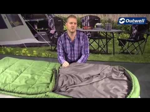 Смотреть видео Спальный мешок Outwell Campion