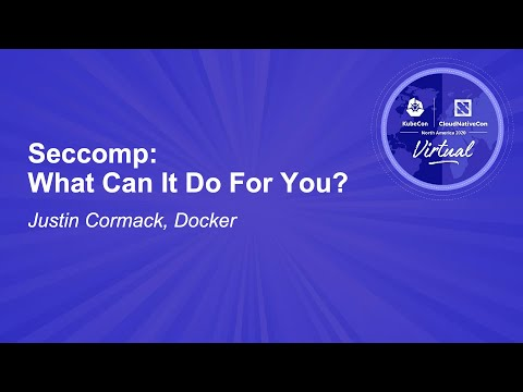 Image thumbnail for talk Seccomp: What Can It Do For You?