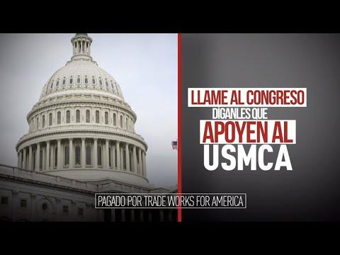 Dígale al congresista Webster que vote sí sobre el USMCA