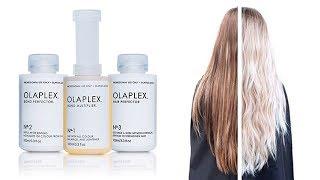 Olaplex.Спасатель для волос при окрашивании и осветлении.Как осветлить волосы без вреда.Олаплекс