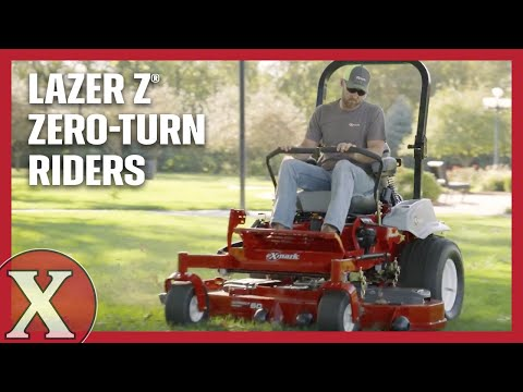 2019 Exmark Lazer Z Diesel Zero-Turn Red Tech Yanmar 72 in. 3TNV80FT in Warren, Arkansas - Video 1