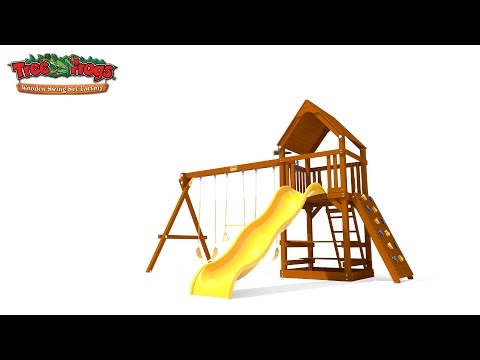 Toucan Fort with Wood Roof Video video
