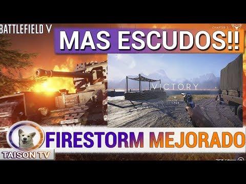 Battlefield V Notas Parche de Mañana, Mejoras de Visibilidad Movimiento y de Firestorm