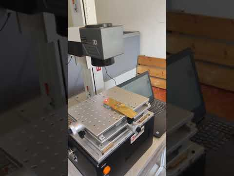 IPG Laser Hallmarking Machine