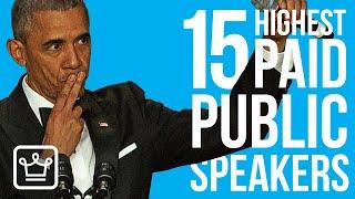 Top 15 Highest Paid Public Speakers
