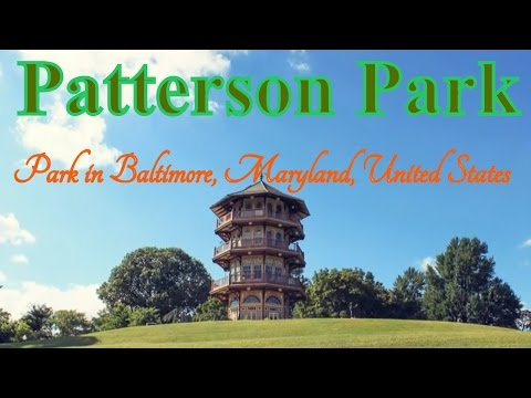 Video Visiting Patterson Park, Park in Baltimore, Maryland, United States