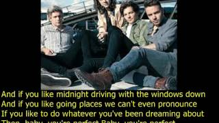 one direction perfect lyrics + pictures