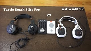 Turtle Beach Elite Pro vs Astro A40 TR: Battle of the Titans!!!
