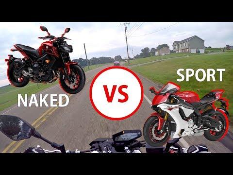 Naked Bike Vs Sport Bike – Which Should You BUY?