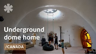 Underground Dome House Of The Family Who Led Geese To Fly Home