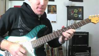 Guitar Solo Tutorial - Bending To Pitch Lesson - How To Bend To The Note