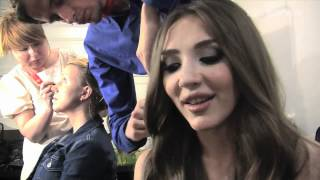 Sabina Babayeva - When The Music Dies (Azerbaijan) 2nd Rehearsal and Backstage
