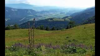 preview picture of video 'Austria Carinthia: Dreiländereck by Arnoldstein'