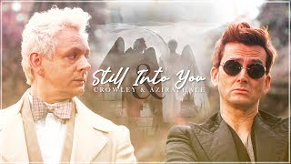 crowley & aziraphale || true love - starksual features