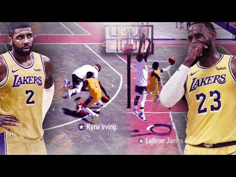 LeBRON JAMES and KYRIE IRVING DOMINATE the PARK in NBA2K19