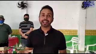 Projeto arrecada alimentos e máscaras para ajudar famílias carentes de São Gonçalo