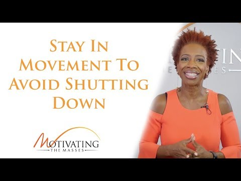 Lisa Nichols – Stay In Movement To Avoid Shutting Down