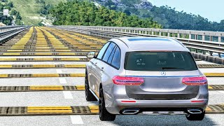 Cars vs 100 Speed Bumps #2 – BeamNG Drive   CrashBoomPunk