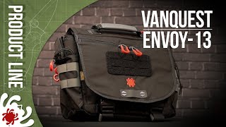 Spyderco By Vanquest Envoy-13 Messenger Bag