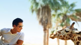 Mario Lopez explores on his family vacation