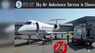 Receive All Type of Medical Features in Sky Air Ambulance from Mumbai