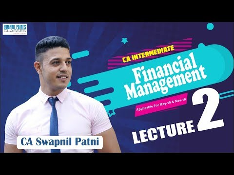 CA Inter FM lecture 2| Lets understand leverage practically | by CA Swapnil Patni