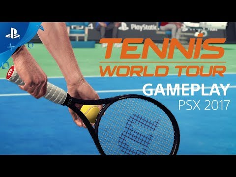 Tennis World Tour - PSX 2017: Gameplay Interview de Tennis World Tour
