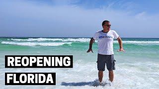 ROAD TRIP TO FLORIDA DURING CORONAVIRUS | Social Distancing at Destin Florida beach