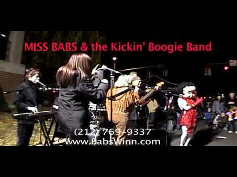 MISS BABS & the Kickin' Boogie Band, 5 min. Promo