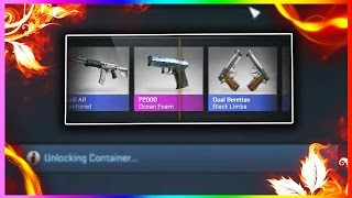 csgo cases x40 gamma case opening huge bravo cases unboxing cs