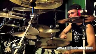 "Raphael Saini - Slayer ""Disciple"" - A Tribute to Paul Bostaph"