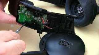 Disassemble the PS3 Wireless Stereo Headset