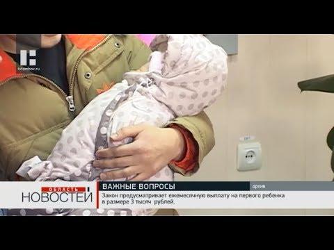 В областной Думе обсудили вопрос о выплате пособий на ребёнка от 1,5 лет